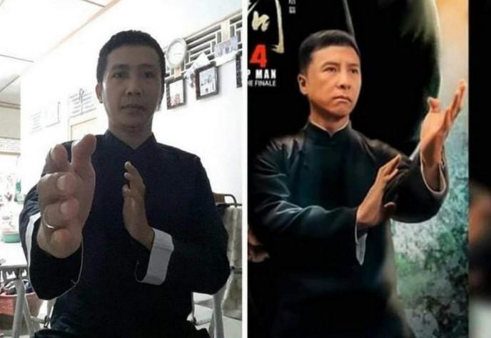 Penjual Es di Singakawang mirip Donnie Yen